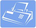 Fax - ikona